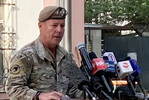 Top US commander in Afghanistan steps down as 20-year war nears the end