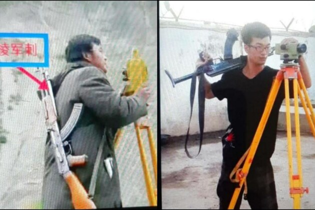 After Dasu bus blast in Pakistan, Chinese engineers working on CPEC spotted carrying AK-47 guns.