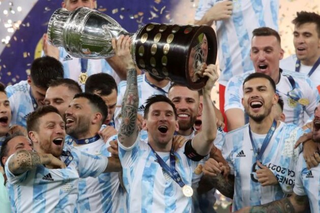 Copa America 2021: Lionel Messi ends trophy drought as Argentina beat Brazil 1-0 in the finals