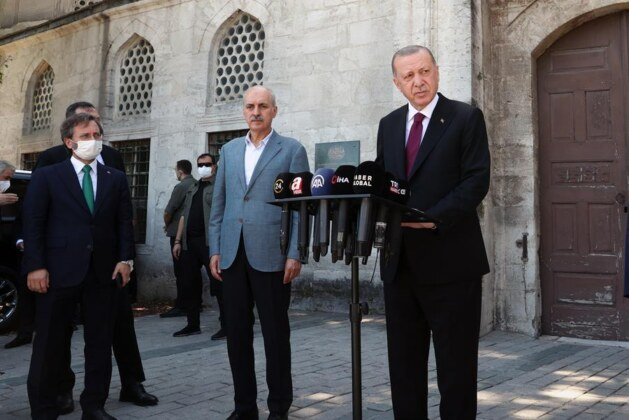 I will convey messages of world peace from Turkish Cyprus: Erdoğan
