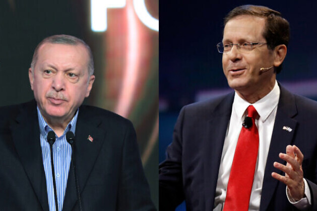 In a possible sign of that, Turkey's Erdogan talks with new Israeli president