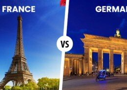 Which is a better country France or Germany?
