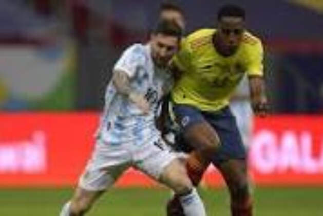 Yerry Mina says he will always respect Lionel Messi, even after Copa América clash