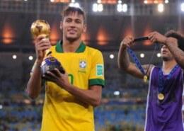 How many trophies has Neymar won in his career?