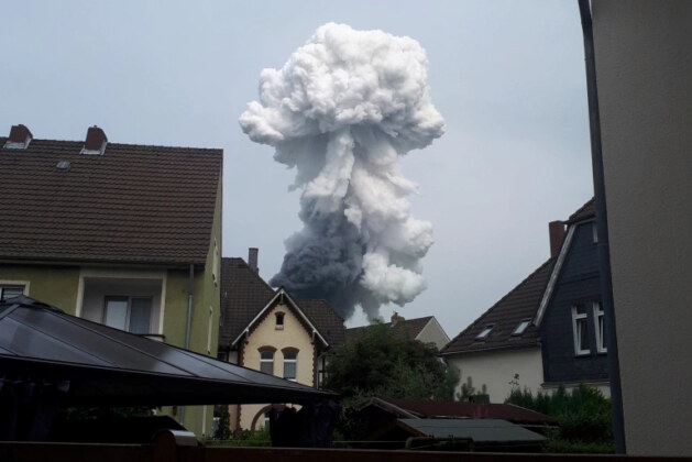 One dead, four missing after explosion hits German chemicals site
