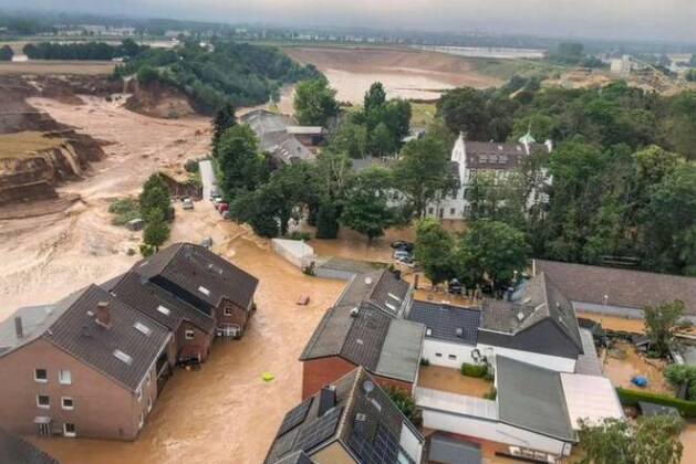 The flash floods this week followed days of heavy rainfall which turned streams and streets into raging torrents that swept away cars and caused houses to collapse.
