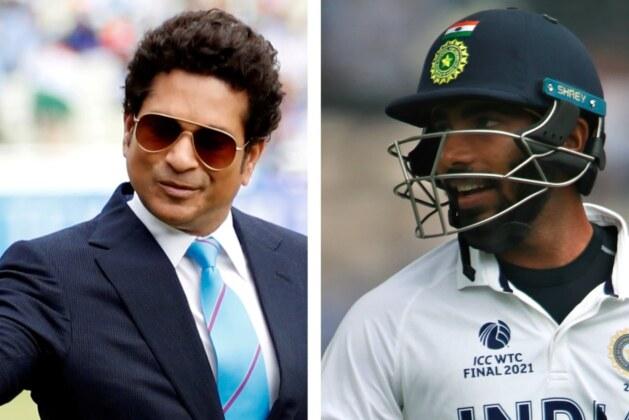India vs England: Sachin reacts after Bumrah smokes thunderous six off Curran.