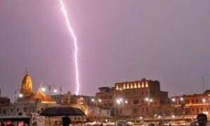 Lightning strikes claim 17 lives in Jharkhand, Odisha, West Bengal.