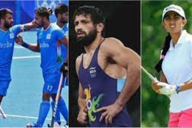 Highlights Tokyo Olympics 2020 India, Day 14: Wrestler Ravi Dahiya Settles For Silver, India Clinch Historic Bronze in Men's Hockey; Golfer Aditi Ashok Keeps Medal Hopes Alive.
