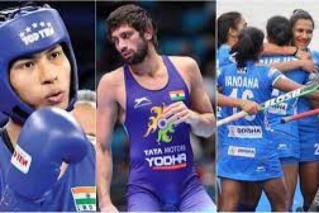Highlights Tokyo Olympics 2020, Day 13: Ravi Dahiya, Neeraj Chopra Book Final Berth; Lovlina Settles For Bronze; IND Women Hockey Team to Play For Bronze.