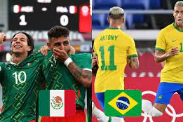 Tokyo Olympics: Men's Football: Semi-Final Mexico vs Brazil Live Blog, Catch all the live action here.